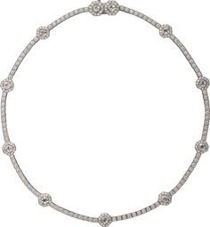 CARTIER. Headband back part can also be worn as a necklace - cushion-shaped diamonds, brilliant-cut diamonds. #Cartier #CartierMagicien #HauteJoaillerie #FineJewelry #Diamond