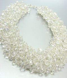 AAAAAAAAAA BABA 484745252637585969562Czech Crystal necklace