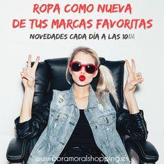 New in! 🗯   Has visto las novedades de hoy? Empieza el lunes dándote un capricho desde 1€! 🛍 👉 poramoralshopping.es  #ropacomonueva #modalowcost #modafemeninaonline #ropasegundamanoonline #ropasegundamanobarcelona #ropademarcabarata #poramoralshopping #vendeturopa #blogdemoda #blogger #ropasegundamano