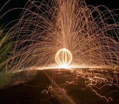 Sparkles by long exposure. Wanna make photo like this? Tutorial available