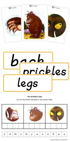 Freebies Flashcards Word Cards And Worksheet Activities For Practicing Body Parts With The