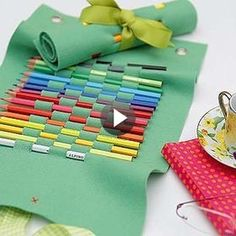 como hacer un estuche para lapices de tela - Buscar con Google