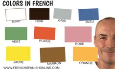 Printing Wood Filament To Learn French Pictures Learn French Free, Learn French Online, French Adjectives, Nouns And Adjectives, French Expressions, French Tenses, French Pictures, Idiomatic Expressions, French Colors