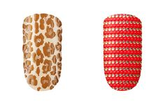 New Beauty Product: Cool Nail Strips From Essie The Nail Queen comes out with the line's first-ever nail appliqués! A dozen playful designs include everything from animal prints to bold studded patterns that will each last about a week and a half. Try mixing and matching or taking a trendy approach and have your ring finger stand out.