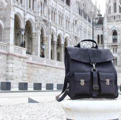 The classic one!! ✔️ www.kjoreproject.com/backpacks #kjøre #budapest #hungary #buda #pest #europe #trip #human #heritage #vintage #view #landscape #loving #amazing #places #photo #canon #kjoreproject #instagram #friends #igers #handmade #leather #goods @kjoreproject