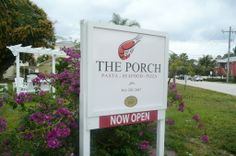 The Porch restaurant is located in a registered historic home at 85 SE Avenue in downtown Delray Beach. They serve fresh seafood, Italian pastas, pizzas and Mediterranean fare and offer great outdoor dining on their spacious extended deck. The Porch Restaurant, Downtown Delray, Seafood Pizza, Outdoor Dining, Outdoor Decor, Delray Beach, Fresh Seafood, Italian Pasta, Deck