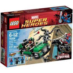 Đồ chơi LEGO 76004 Spider-Man Spider Cycle Chase – Rượt đuổi trên không