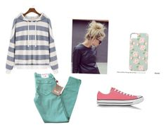 """""""Untitled #130"""" by marissa-moore-i on Polyvore featuring True Religion and Converse"""
