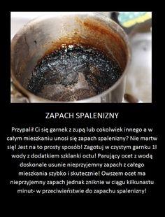 Super trik na pozbycie się zapachu spalenizny