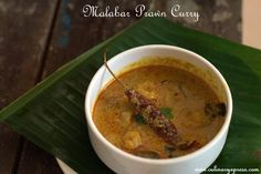 Malabar Prawn Curry is a recipe from the coastal regions of South India, KERALA…