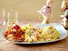 Italienische Pasta – die besten Original-Rezepte - pasta-mista-per-due  Rezept