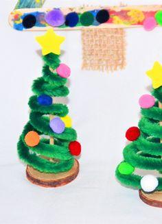 Oh Tannenbaum – Tannenbaum mit Kindern basteln - 3 einfache DIY-Ideen — Mama Kreativ crafts for kids for teens to make ideas crafts crafts How To Make Christmas Tree, Christmas Wreaths, Christmas Crafts, Xmas, Christmas Ornaments, Easy Crafts, Diy And Crafts, Easy Diy, Paper Crafts