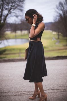 Classic Twist | Live Love and Read | how to accessorize a black dress, classic black dress