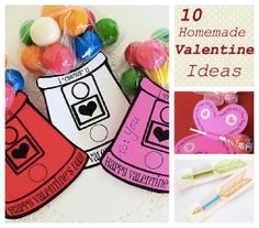 Homemade Valentine Coupons. 10 Fun And Easy Homemade Valentines For Kids Saving The Family Money