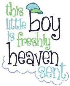 693 Baby Boy Sentiments