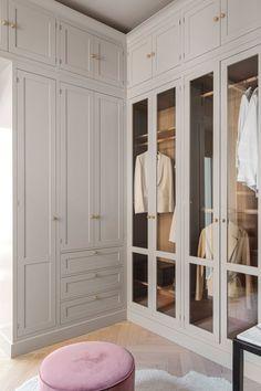 Walk In Closet Design, Bedroom Closet Design, Master Bedroom Closet, Closet Designs, Home Room Design, Home Interior Design, Dressing Room Decor, Dressing Room Closet, Dressing Room Design