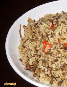 almostveg: Couscous and Lentil Pilaf