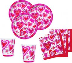 Herzen Valentinstag Deko Ideen Valentinstag Party, Party World, Valentines Date Ideas, Decorating Ideas