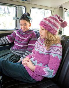 Lana Grossa PULLOVER Mille II - FILATI Kids & Teens No. 6 - Modell 65 (rechts)   FILATI.cc WebShop