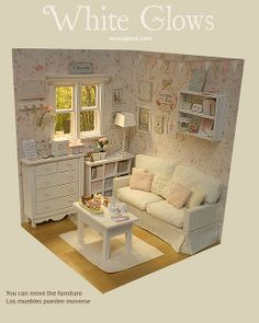 White Glows Diorama | Flickr - Photo Sharing!