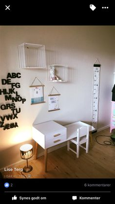 Skrivebord fra Jem & fix