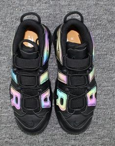 ae22452a1d7e Nike Air More Uptempo AIR 3M reflective chameleon Pippen shoes Cheap Jordan  Shoes