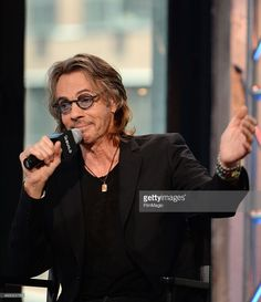 Musician/actor Rick Springfield attends the AOL BUILD Speaker Series Presents: 'Ricki And The Flash' at AOL Studios In New York on August 5, 2015 in New York City.