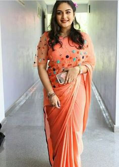Well there s no doubt prints can pep up any space and that it will be in trend throughout the year lookoftheyear – Artofit Trendy Sarees, Fancy Sarees, Trendy Dresses, Saree Embroidery Design, Hand Embroidery Dress, Cutwork Saree, Blouse Designs Catalogue, Saree Dress, Dress Prom
