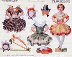"""Листки из газеты """"Boston Post"""" 1911 года  Ирландский танец"""