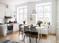 A cute Swedish family apartment