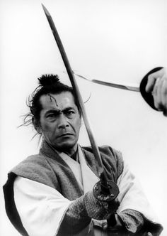 Toshiro Mifune as Isaburo Sasahara in Samurai Rebellion
