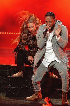 "beyoncefashionstyle: "" Beyonce X Kendrick Lamar """