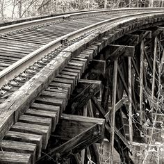 Abandoned Railroad Trestle, Berkeley Springs, WVA