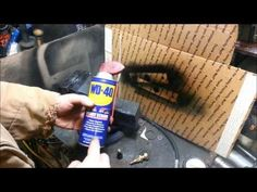 Refill flat AEROSOL Spray Cans like the WD-40 and others - YouTube