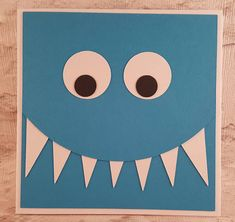 These funny monster cards would be ideal for a fun filled birthday! Handmade using a variety of cardstock with assorted faces, these monsters are bound to make the recipient smile. Please note; I can make a different face/colour combination and of course add a sentiment to the card