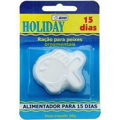 Ração para Peixes Ornamentais Holiday 15 Dias Alcon - MeuAmigoPet