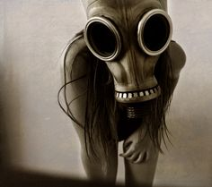 Have I ever said how much I love gas mask photos? 'Cause I do. Oh so much.