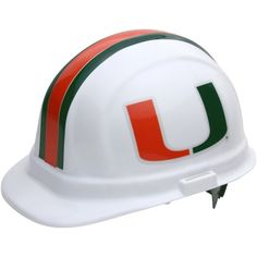 WinCraft Miami Hurricanes OSHA Hard Hat - a good fit for members of our   lennarseflorida 136649a4d