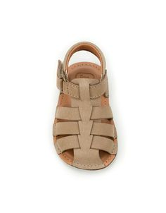 Summer leather sandal - Shoes - Mini  Kids - ZARA