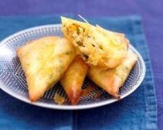 Samosas au crabe, petits légumes et Carré Frais (facile, rapide) - Une recette CuisineAZ