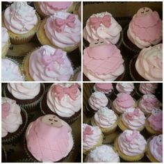 Baby girl shower cupcakes!!! search girlie girl sweets on facebook