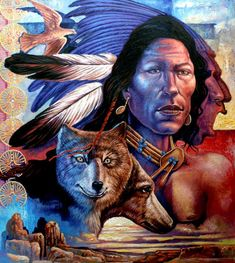 World-African Arts. Native American Art, American Indians, Big Dream Catchers, African Art Paintings, Arte Pop, Nativity, Horses, Fine Art, Wall Art