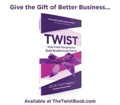 Twist: How Fresh Perspectives Build Breakthrough Brands You Got This, My Love, Brand Building, Business Help, Vice President, Of Brand, Business Branding, Lust, Perspective