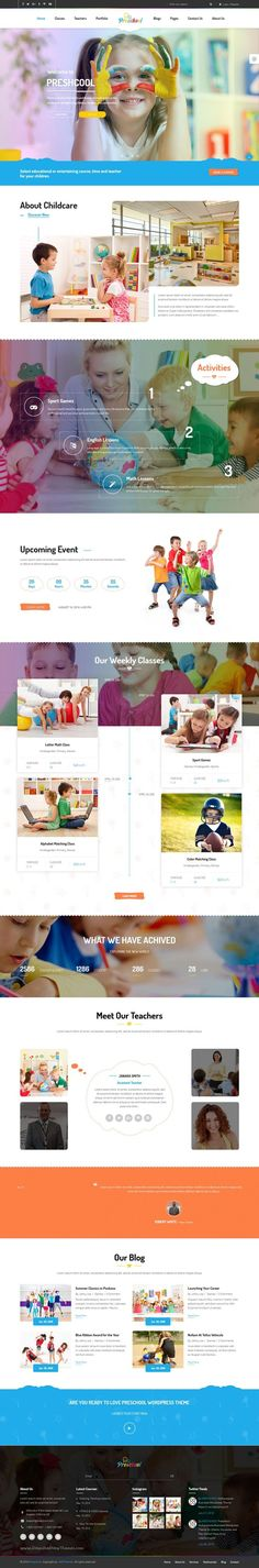 Preschool is a creative #WordPress theme for kindergartens, #nursery, #preschool or child care centers websites download now➝ https://themeforest.net/item/preschool-multipurpose-business-wordpress-theme-for-infants-nurseries-and-play-school/16259973?ref=Datasata