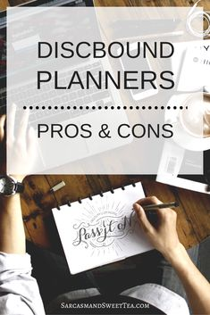 Pros and cons of using a discbound planner system