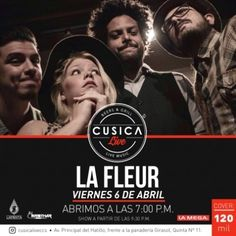 Cusica Live presenta a LaFleur http://crestametalica.com/evento/cusica-live-presenta-a-lafleur/ vía @crestametalica