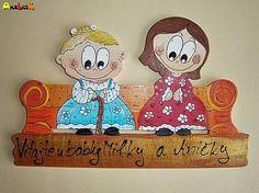 anjelicek / Menovka - dvojica Snoopy, Christmas Ornaments, Holiday Decor, Baby, Handmade, Character, Home Decor, Homemade Home Decor, Christmas Jewelry