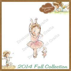 Dreamerland Crafts Cling Stamp - FA14 My Favourite Dance Partner ***BACK-ORDER***