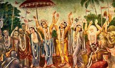 Oh Holy Name! Even when a person becomes an offender unto the Supreme Personality of Godhead Himself, he can still be delivered simply by taking shelter of the Holy Names of the Lord: Hare Krishna…