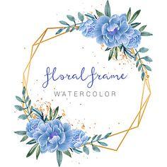Watercolor Flower Vector, Watercolor Logo, Logo Floral, Design Floral, Background Flores, Logo Background, Frame Flores, Adobe Illustrator, Design Transparent